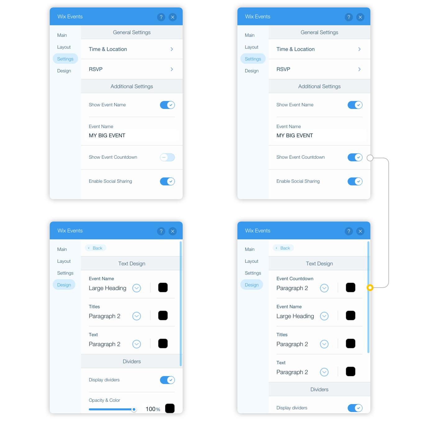 App Settings Panel - Documentation